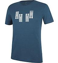 Wild Country Flow M - T-shirt arrampicata - uomo, Blue/White