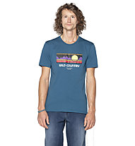 Wild Country Flow M - T-shirt arrampicata - uomo, Navy/Multicolor