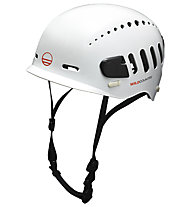 Wild Country Fusion - casco arrampicata, White/Black
