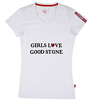 Wild Country Good Stone - T-Shirt arrampicata - donna, White