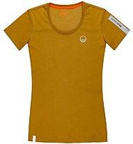Wild Country Graphic - T-Shirt Klettern - Damen, Brown
