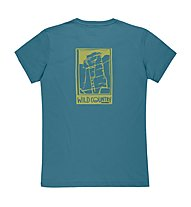 Wild Country Graphic - T-Shirt arrampicata - uomo, Blue