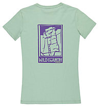 Wild Country Graphic - T-Shirt arrampicata - donna, Light Green
