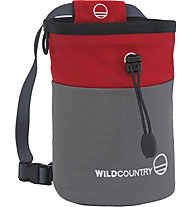 Wild Country Petit Bloc Chalk Bag - Kreidetasche, Red