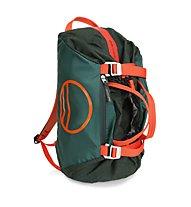 Wild Country Rope Bag - zaino portacorde, Green/Orange