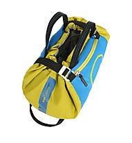 Wild Country Rope Bag - zaino portacorde, Light Blue/Yellow
