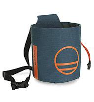 Wild Country Session Chalk Bag - portamagnesite, Dark Blue/Orange