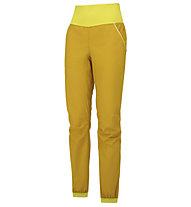 Wild Country Session - pantaloni arrampicata - donna, Yellow
