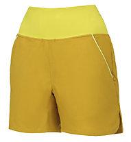Wild Country Session W - pantaloni corti arrampicata - donna, Yellow