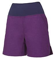 Wild Country Session W - pantaloni corti arrampicata - donna, Purple