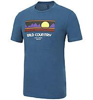 Wild Country Stamina - T-shirt arrampicata - uomo, Blue