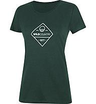 Wild Country Stamina W- Damen-T-Shirt, Dark Green
