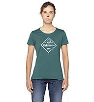 Wild Country Stamina W - T-shirt - donna, Dark Green