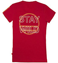 Wild Country Staywild - T-Shirt arrampicata - donna, Red