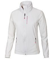 Wild Roses Azure Softshell Jacket Women, White Sail