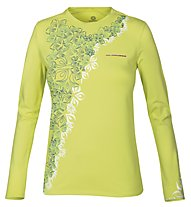 Wild Roses Lilian WR Logo R-Neck T-shirt, Sunny Lime