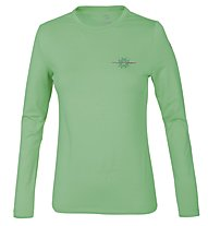 Wild Roses Lizette WR Logo R-Neck T-shirt Donna, Irish Green