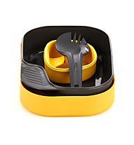 Wildo Camp-A-Box Light - set stoviglie, Yellow