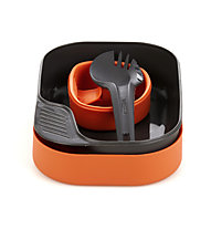 Wildo Camp-A-Box Light - set stoviglie, Orange