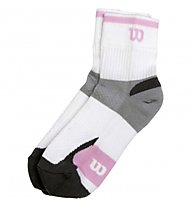 Wilson Ergostep Ladies - Tennissocken, White