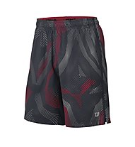 Wilson Fall Geo Print Stretch Woven Tennishose, Coal