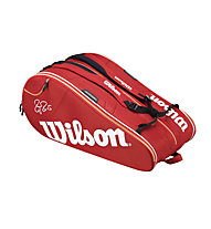 Wilson Federer Court 15 Bag, Red