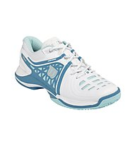 Wilson NVision Elite scarpe tennis donna, White/Mint Ice