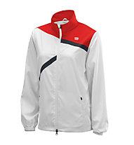Wilson Rush Team Jacket, White/Wilson Red