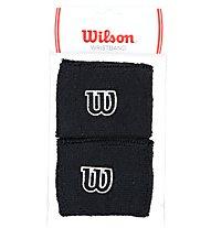Wilson Wristband polsino tennis, Black