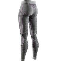 X-Bionic Apani 4.0 Merino - calzamaglia - donna, Grey/Violet