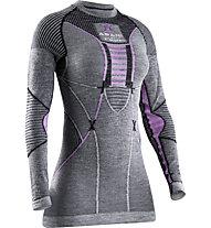 X-Bionic Apani 4.0 Merino - Funktionsshirt - Damen, Grey/Violet