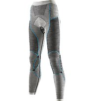 X-Bionic Apani Merino Lady UW - Unterhose Lang - Damen, Grey/Light Blue
