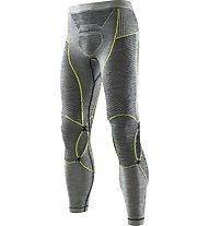 X-Bionic Apani Merino Man UW - Funktionsunterhose lang, Black/Yellow