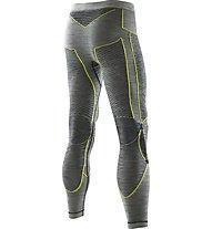 X-Bionic Apani Merino Man  - calzamaglia - uomo, Black/Yellow