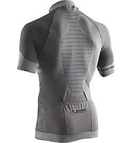 X-Bionic Biking Fennec OW Shirt - Radtrikot - Herren, Grey