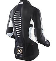 X-Bionic Biking Man Winter Spherewind Light Jacket Radjacke, Black/White