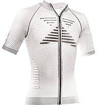 X-Bionic Effector Power Biking - Radtrikot - Herren, White/Black