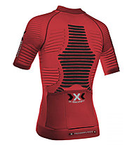 X-Bionic Effector Power Biking - Radtrikot - Herren, Red/Black