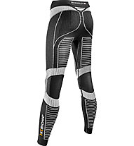 X-Bionic Effektor Running Power Lady Pants Long - pantaloni running donna, Black/White