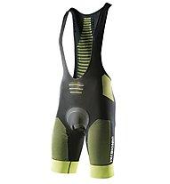 X-Bionic Effektor Power Biking Bib Tight - Radhose - Herren, Green/Black
