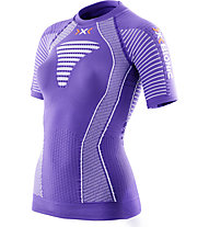 X-Bionic Effektor Power - Laufshirt - Damen, Violet/White
