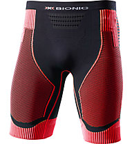 X-Bionic Effektor Power - pantaloncini running - uomo, Black/Red