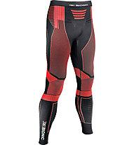 X-Bionic Effektor Running Power - Laufhose, Black/Red