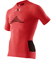 X-Bionic Effektor Man Shirt - Laufshirt, Red/Black