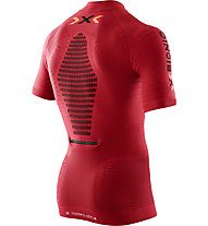X-Bionic Effektor Trail Shirt Running Man - Laufshirt, Red/Black