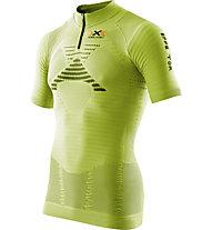 X-Bionic Effektor Trail - T-shirt trail running - uomo, Green/Black