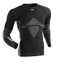 X-Bionic Energizer MK2 - Funktionsshirt Langarm - Herren, Black/White