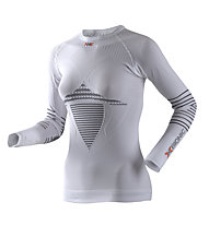 X-Bionic Energizer MK2 Shirt Long Sleeves Round Neck, White/Black