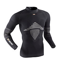 X-Bionic Energizer MK2 Shirt Long Sleeves Turtle Neck, Black/White