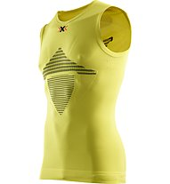 X-Bionic Energizer MK2 Sleeveless Man, Green Sheen/Black